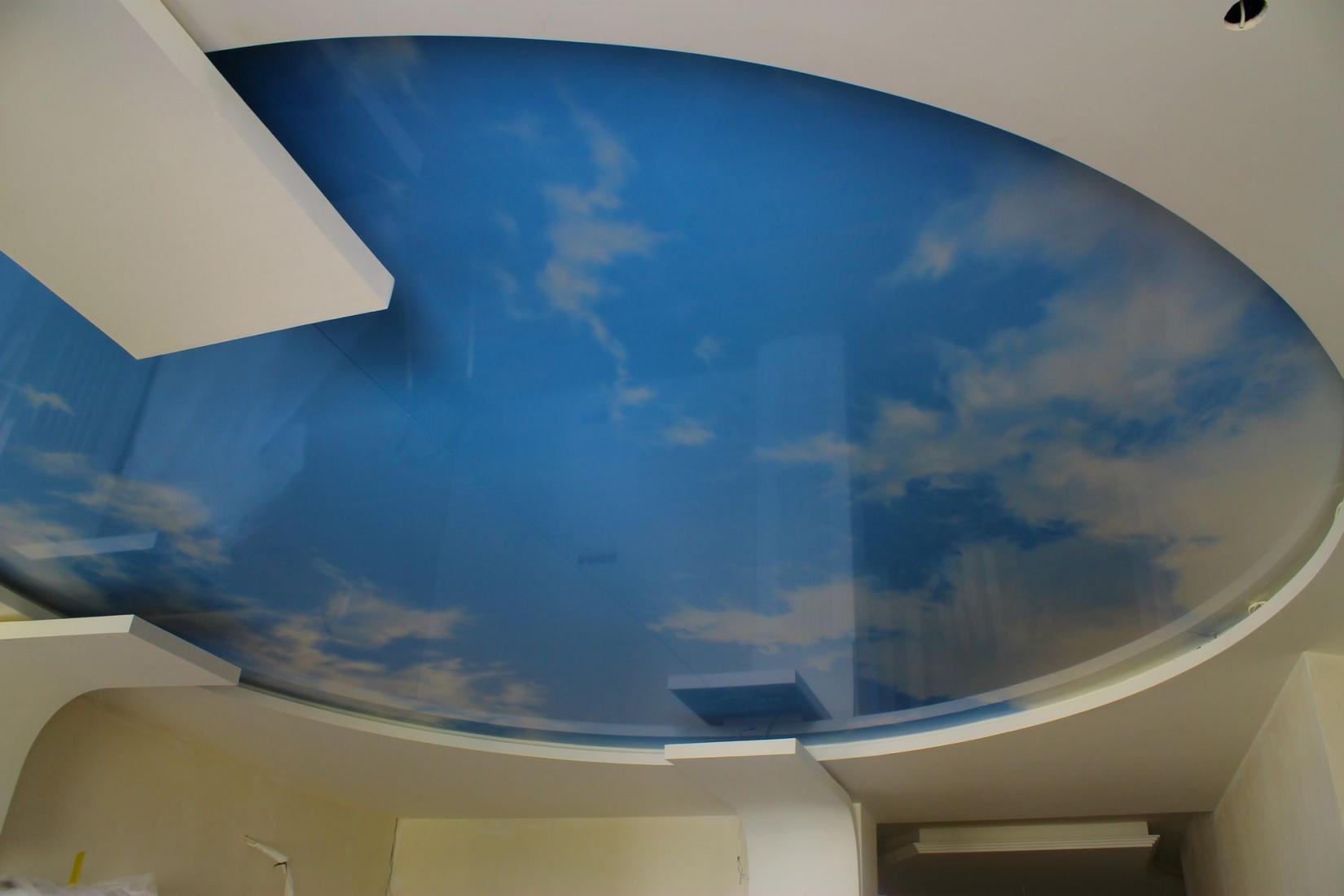 Натяжные потолки небо фото анжеро судженск
